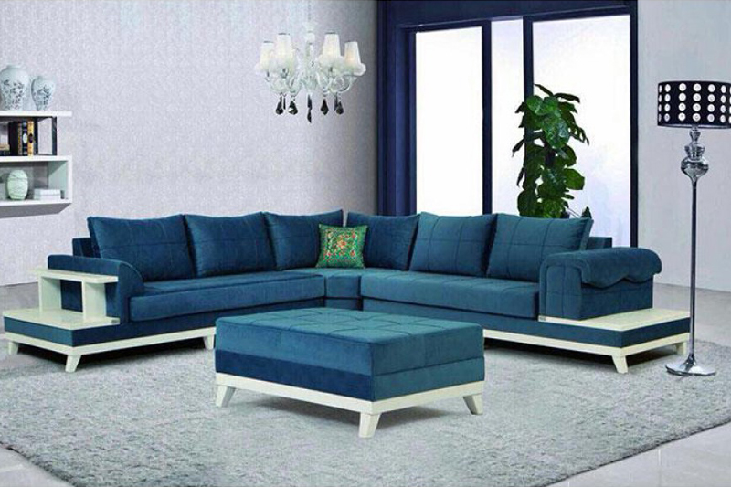 Sofa arrangement for small houses