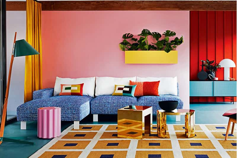 The role of color in interior decoration